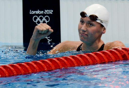 لندن 2012...الروسية زوييفا تمنح بلادها فضية في السباحة