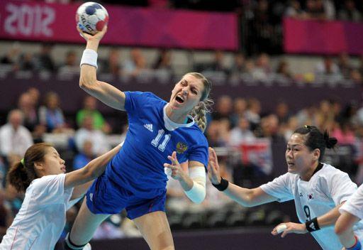 لندن 2012...روسيا تودع مسابقة كرة اليد للسيدات