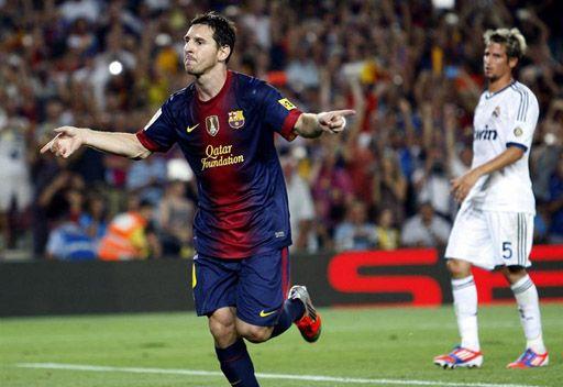 برشلونة يهزم ريال مدريد في ذهاب