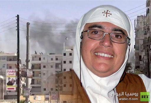 راهبة تتحدث عن اوضاع المسيحيين في سورية