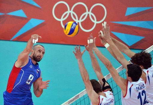 لندن 2012: روسيا الى ربع نهائي مسابقة الكرة الطائرة