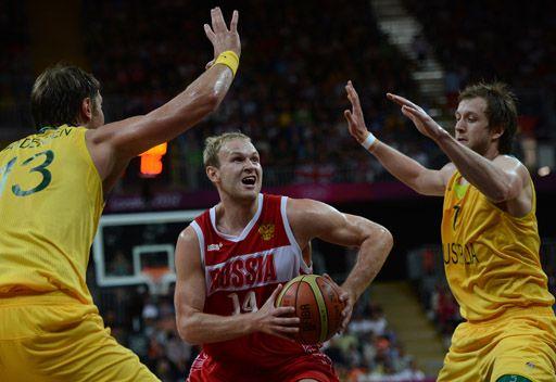 روسيا تخسر أمام أستراليا سلوياً بأولمبياد لندن