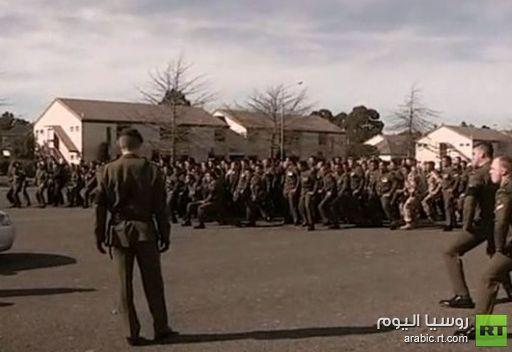 فيديو: رقص تقليدي في تشييع جنود نيوزلنديين قتلوا بافغانستان