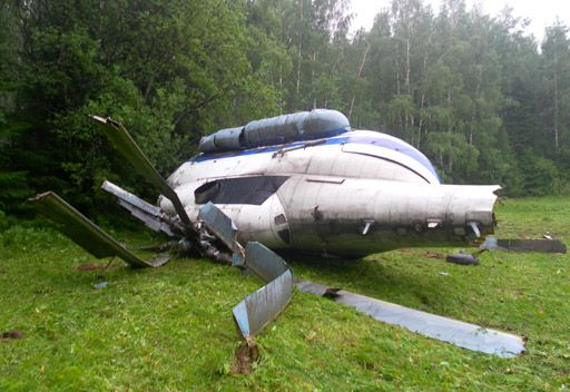 تحطم مروحية ومقتل طيارها في مقاطعة روستوف الروسية