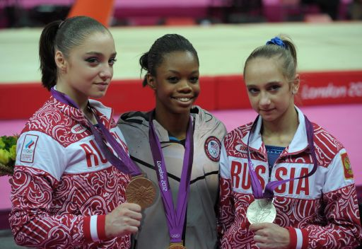 فضية وبرونزية لروسيا في جمباز النساء الفردي