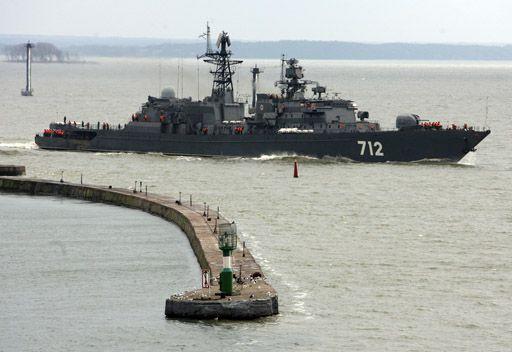 سفن حربية روسية تنفذ مهام تدريبية في البحر الابيض المتوسط