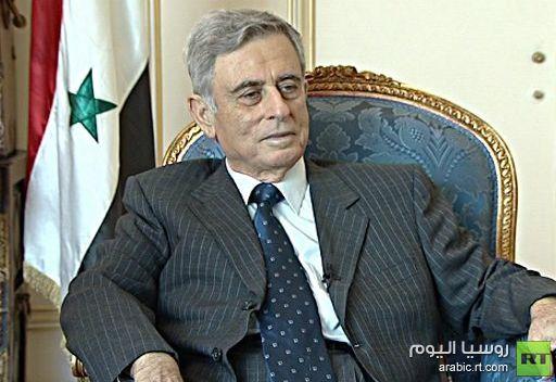 عبد الحليم خدام: لا أنوي أن أترأس الحكومة الانتقالية في سورية