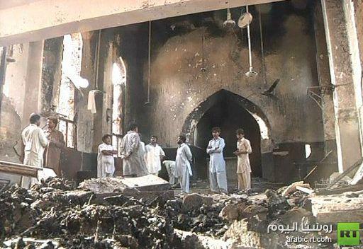 باكستان..مسلمون يحرقون الكنيسة اللوثرية بالكامل