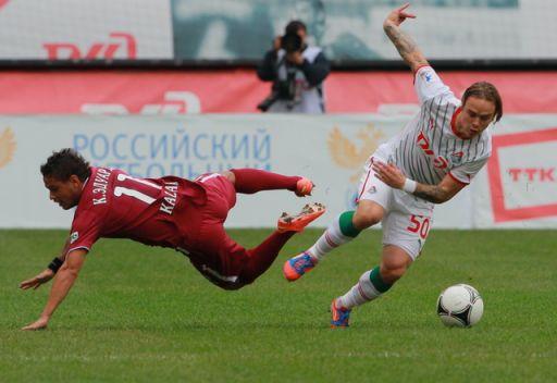 الدوري الروسي... تاراسوف يقود لوكوموتيف للفوز على روبين قازان