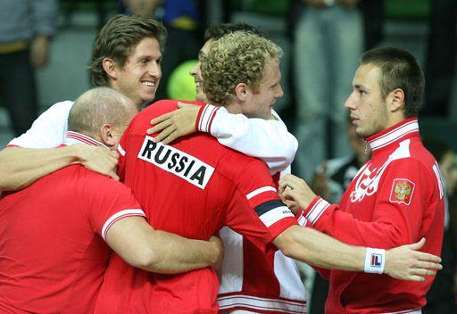 روسيا تواجه بريطانيا في كأس ديفيز للتنس 2013