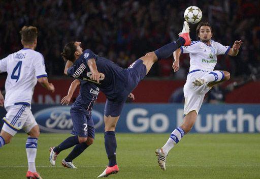 فوز باريس سان جيرمان وخسارة مونبيليه في دوري الأبطال