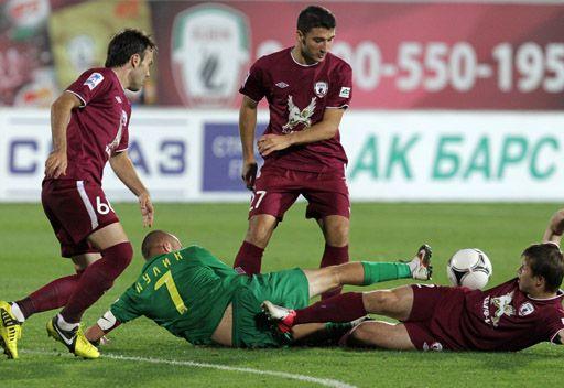 روبين يتغلب على كوبان بهدف الإيطالي بوكيتي