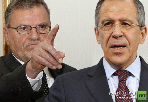 لافروف يلتقي نظيره الليبي ويصرعلى مراعاة حقوق السجناء الروس في ليبيا