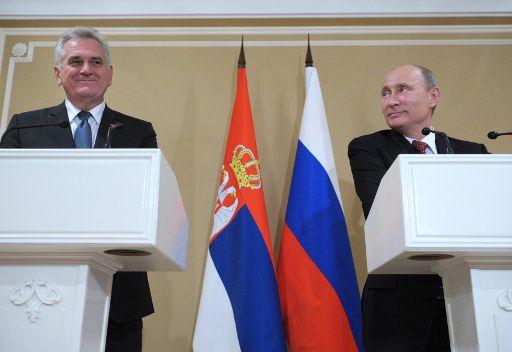 بوتين: موقف روسيا من كوسوفو مبنى على قرار مجلس الامن الدولي رقم 1244
