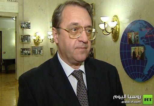 دبلوماسي روسي رفيع يتصل مع المعارضة السورية في باريس