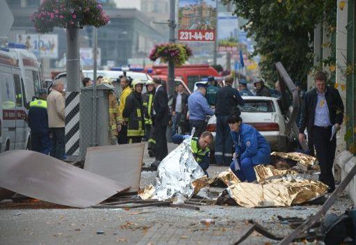 مقتل 7 أشخاص جراء حادث مروري في موسكو