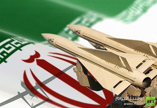 ايران تعرض طائرة استطلاعية حديثة وتختبر بنجاح منظومتها الجديدة للدفاع الجوي