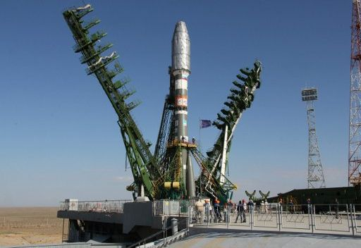 روسيا تطلق صاروخا فضائيا يحمل قمرا اصطناعيا أوروبيا