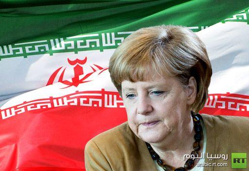 ميركل: يمكن حل مسألة البرنامج النووي الإيراني بطريقة سلمية