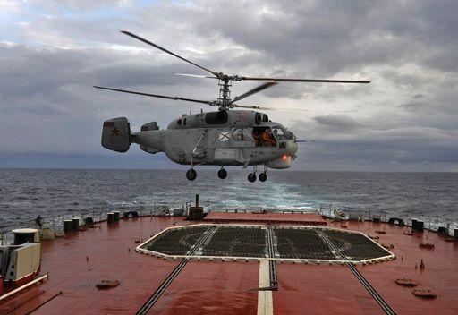 هبوط اضطراري لمروحية روسية في إحدى جزر بحر كارا