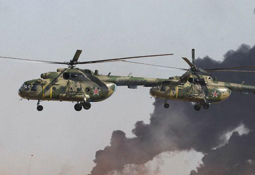 اصطدام مروحتين تدريبيتين في أجوء مقاطعة أومسك الروسية