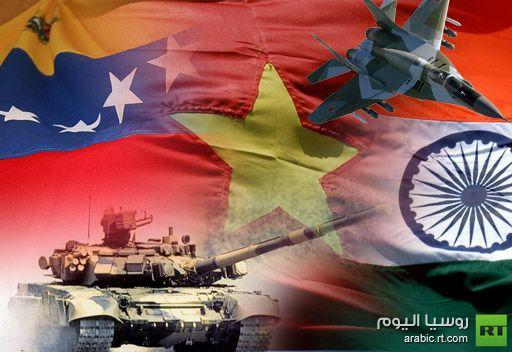 سورية قد تحتل المرتبة الخامسة في قائمة الدول المستوردة للسلاح الروسي