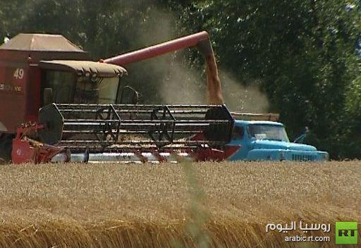 روسيا تصدر 5.3 ملايين طن من الحبوب منذ مطلع يوليو