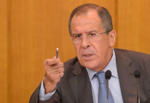 لافروف يبحث مع وفد مجلس الشؤون العربية والدولية الأزمة السورية وملف الشرق الأوسط