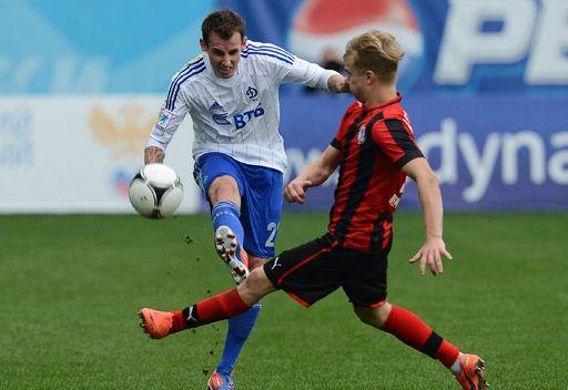 دينامو موسكو يحقق فوزه الثاني في الدوري الروسي