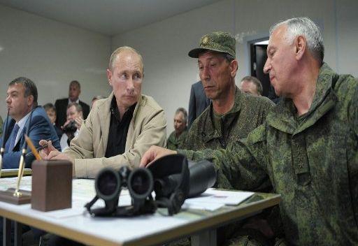 بوتين يشيد بنتائج مناورات
