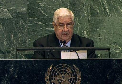 المعلم يتهم الغرب وحلفاءه في الشرق الأوسط بالتدخل في الشؤون السورية ودعم الإرهاب