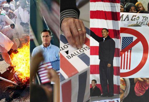 خبرعالمي انتخابات الرئاسة الأمريكية والشرق الأوسط