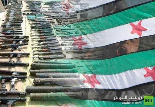 رجل أعمال عربي يتعهد بتزويد المعارضة السورية بالسلاح شريطة توحيد صفوفها