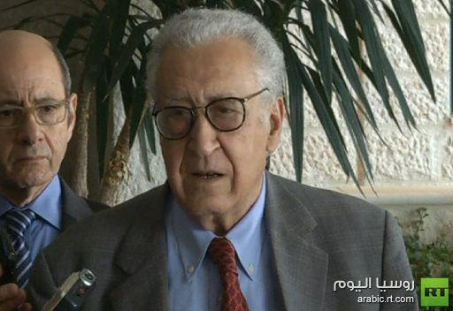 الإبراهيمي من الأردن يناشد السوريين من أجل الهدنة