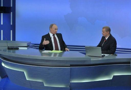 بوتين يلغي اللقاء التلفزيوني التقليدي مع المواطنين الروس