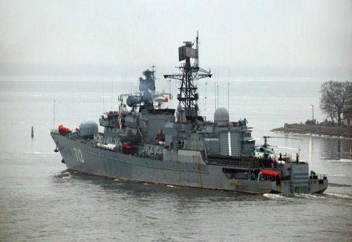 سفن الأسطول الروسي تلاحق القراصنة في خليج عدن والقرن الإفريقي في 2013