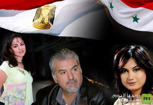 فنانون معارضون للأسد: الأحداث الدموية في سورية أنعشت الدراما المصرية وردت إليها مكانتها