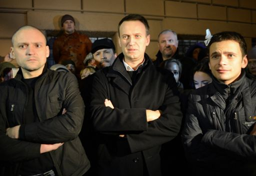 الافراج عن ثلاثة من زعماء المعارضة الروسية بعد توقيفهم لخرقهم النظام العام