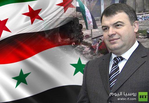 وزير الدفاع الروسي يحذر من محاولات التدخل الخارجي في النزاع السوري