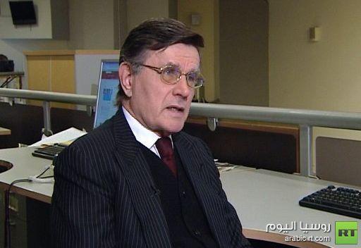 خبير سياسي روسي: حل الأزمة السورية يتمثل في العودة إلى نتائج مؤتمر جنيف