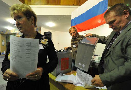 اختتام التصويت في الانتخابات في المناطق الروسية.. وتقدم