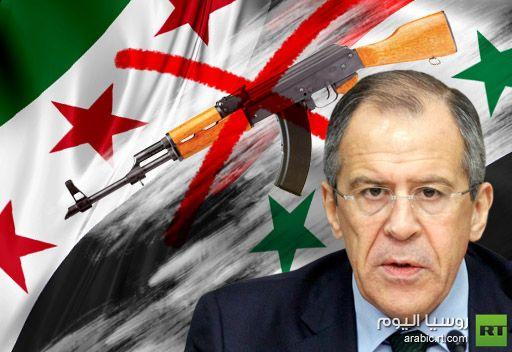 لافروف: روسيا تقف الى جانب الهدنة في سورية بأيام عيد الأضحى