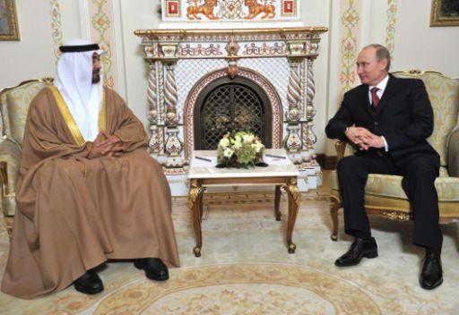 الرئيس الروسي وولي عهد أبو ظبي يؤكدان على تعزيز العلاقات الروسية الإماراتية