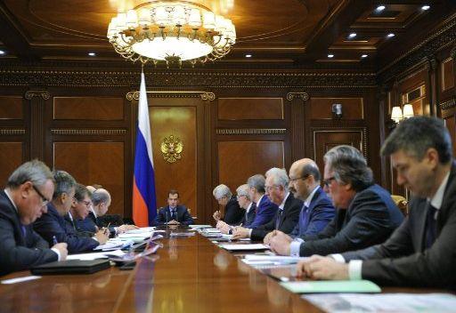 مدفيديف: عملية خصخصة المصارف الروسية تعتبر حدثا مهما للاقتصاد