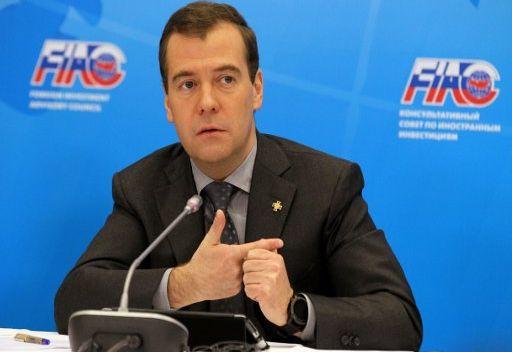 مدفيديف: استثمارات الشركات الأجنبية في روسيا تبلغ 110 مليارات دولار