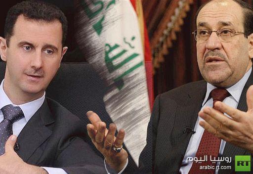 المالكي يجدد وقوفه الى جانب الحل السلمي للقضية السورية