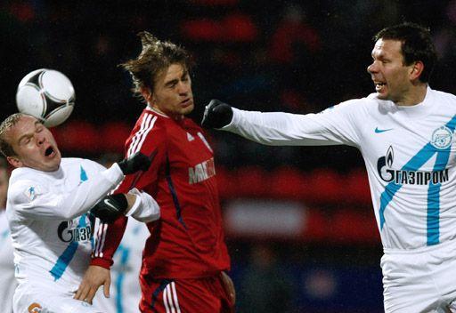 زينيت بطرسبورغ يشق طريقه الى ربع نهائي كأس روسيا