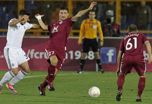 روبين يهزم بارتيزان بثنائية في الدوري الأوروبي