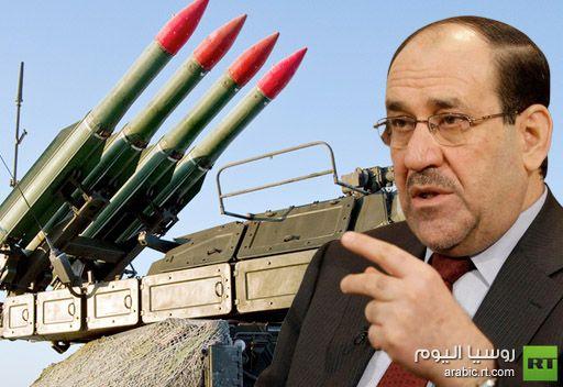 المالكي يعلن احتمال توقيع عقود عسكرية جديدة مع موسكو خلال زيارته الحالية الى روسيا