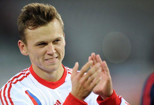 كابيلو يستدعي لاعب ريال مدريد تشيريشيف للمنتخب الروسي